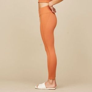Girlfriend Collective Apricot High-Rise Leggings